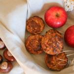 Apfel-Kastanien-Muffin (mit starker Zimt-Note)