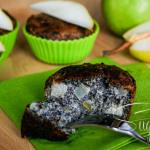 Mohn-Birnen Muffin