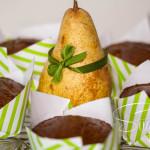 Birnen-Trauben-Muffin